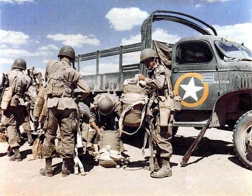 d day airborne units