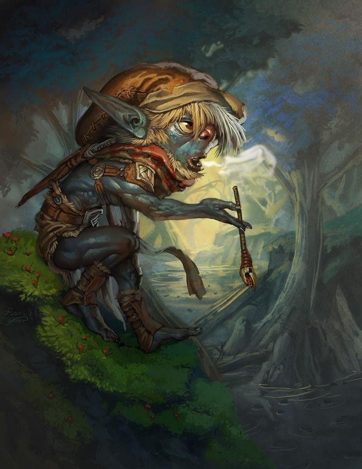 Swamp Goblin 2.0 by chichapie.deviantart.com on @deviantART