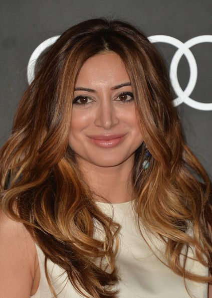 Actress Noureen DeWulf arrives to Audi Celebrates Golden Globes Weekend at Cecconi's Restaurant on January 9, 2014 in Los Angeles, Californi...