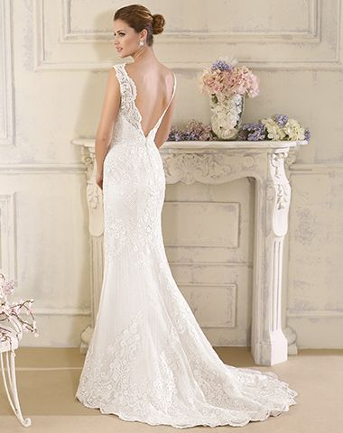 See this gorgeous lace gown from the Novia D'art 2017 collection at Peter Trends Bridal.
