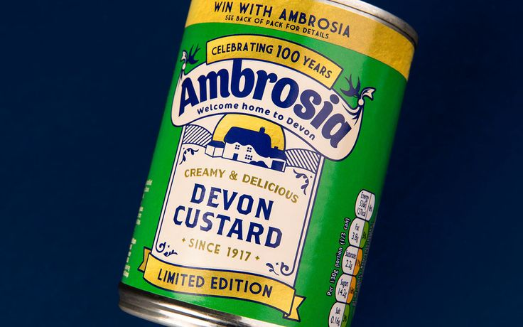 Ambrosia Centinery Packaging on Behance