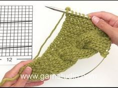 Land Lust Cloth Pattern Knitting A great beginner cloth, with every yarn, in each