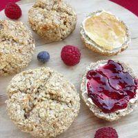 Haferflocken-Brötchen – ideal zum Frühstück