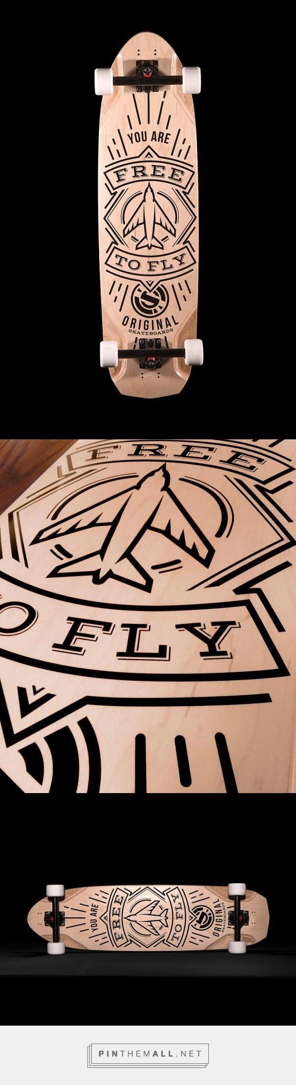 """Original Skateboards """"Free to Fly"""" Arbiter by Craig Valentino. www.craigvalentinodesign.com www.originalskateboards.com"""