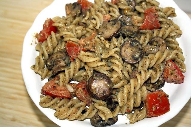 Pesto Cavatappi - Noodles & Company remake!