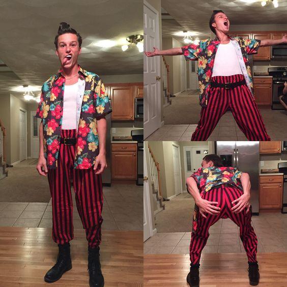 diy ace ventura halloween costume idea 2 - Halloween Costume Ideas For Guys 2017