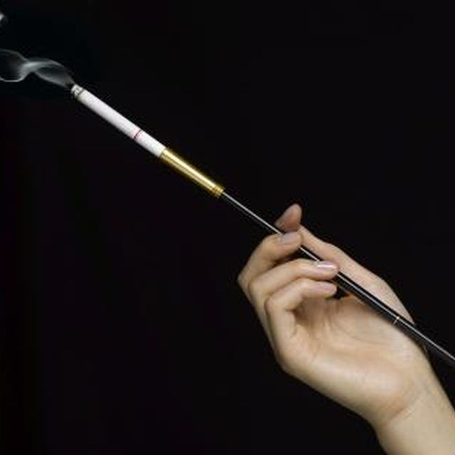 Add a bit of sophistication to your costume with a long cigarette holder.