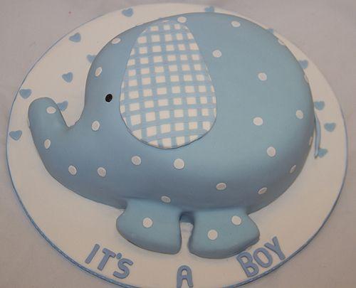 15 Adorable Elephant Cakes