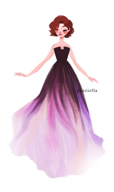 Rapunzel by punziella. Wasn't Lily Collins wearing this dress a few weeks ago at an event haha? They look identical, so cute