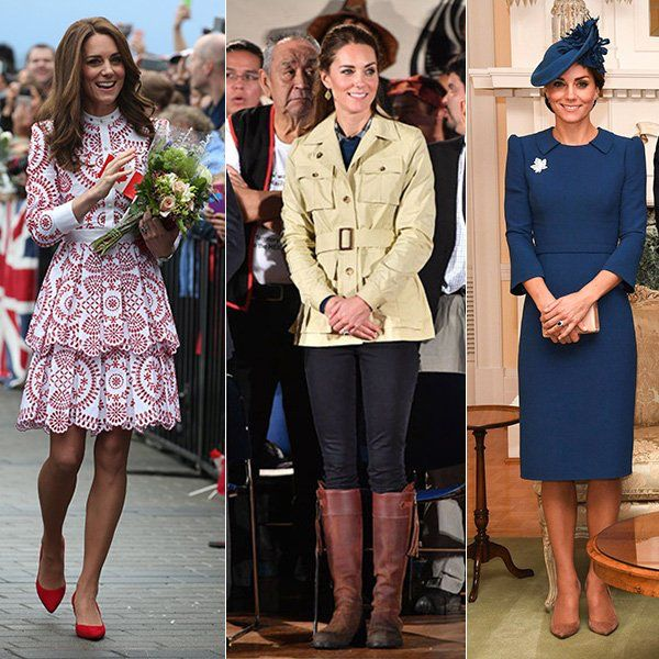 Canada Royal Tour 2016 ~ Outfits worn by Kate on Day 2, Day 3, Day 1