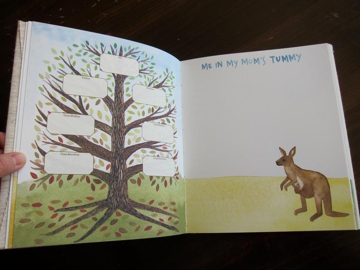 Hand-Made Animal Themed Baby Book  via Etsy.