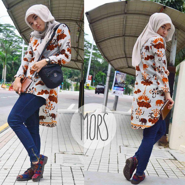#hijab #batik #fashion #indonesia #popular