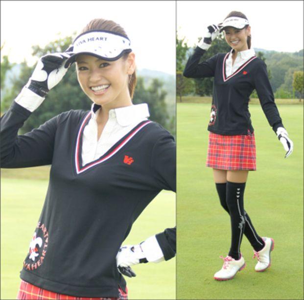 ゴルフ女子必見☆AneCan葛岡碧さんのゴルフウェアが可愛い - Locari(ロカリ)