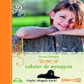"""Iwona Banach, """"Lokator do wynajęcia"""", Piaseczno 2015. Jedna płyta CD. 10 godz. 29 min. Czyta Magdalena Karel."""