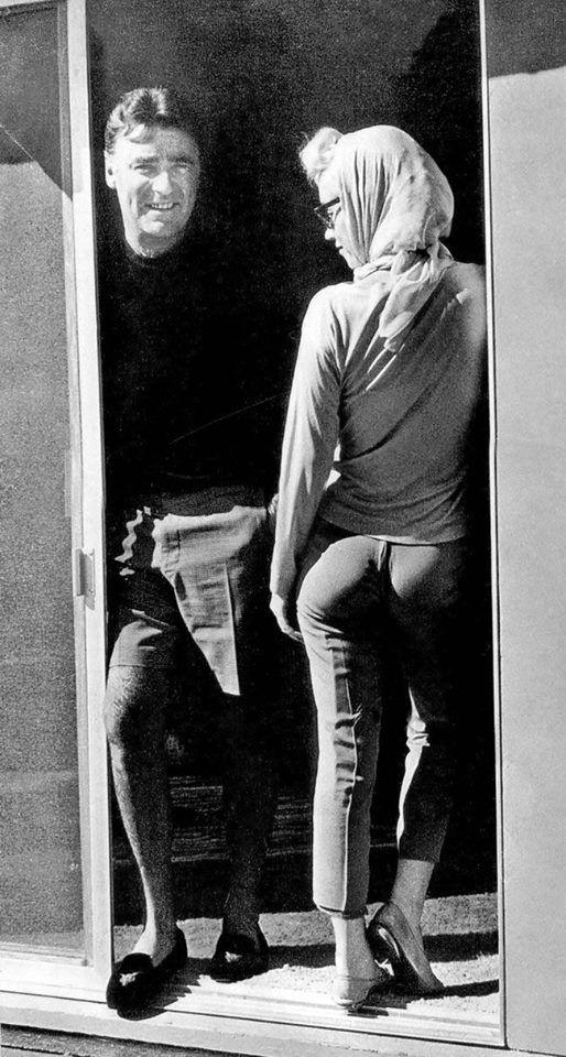 Peter Lawford & Marilyn Monroe, July 1962. One week before Marilyn died. So, this is one of the last photos ever taken of her.