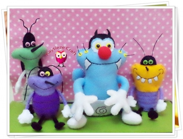 Oggy and the cockcroaches