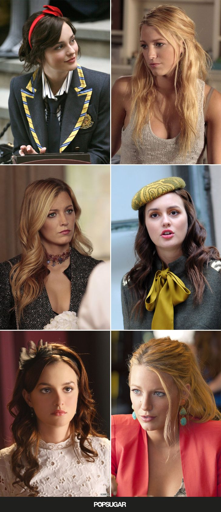 Gossip Girl hairstyles to copy - From the first headband to the last, the iconic hairstyles are all here.