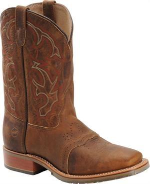 Men's Double H Boot Square Toe Roper - Light Brown