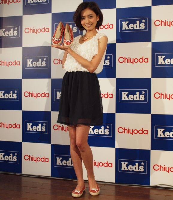 Natsuki Kato models for Keds.