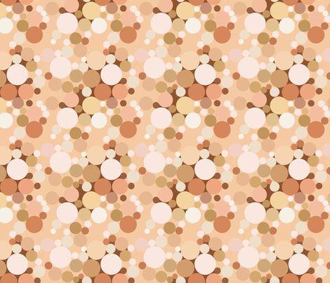 Nude Bubbles fabric by bonspiel on Spoonflower - custom fabric