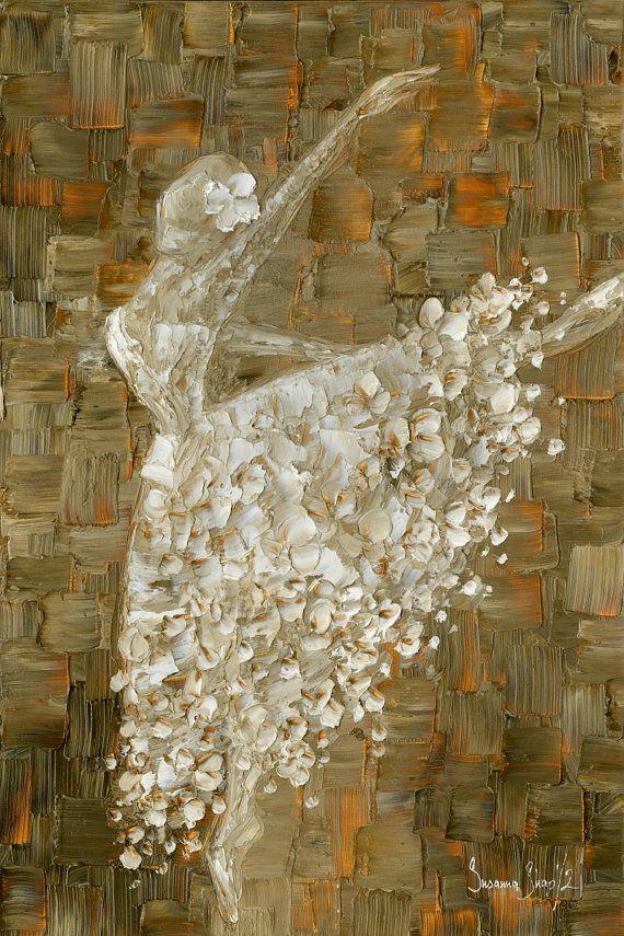 arte ballerina stampa su tela foto contemporanea di ModernHouseArt