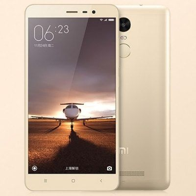 #XIAOMI #REDMI Note 3 first #video 32GB 4G Phablet  -  GOLDEN  5.5 inch #Android 5.0 #Helio X10 Octa Core 2.0GHz #Fingerprint ID 32GB ROM 13.0MP + 5.0MP Camera
