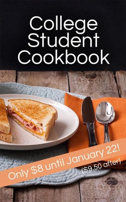 Missionary and College Student Cookbook: Easy and Simple Recipes - Moms Have Questions Too college student tips #college #student