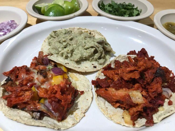 Delicious Vegan Tacos in Mexico City!