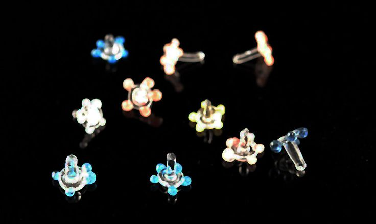 20 Daisy Glass Smoking Pipe Screen Flower Style Ships Fast USA! Assorted Colors