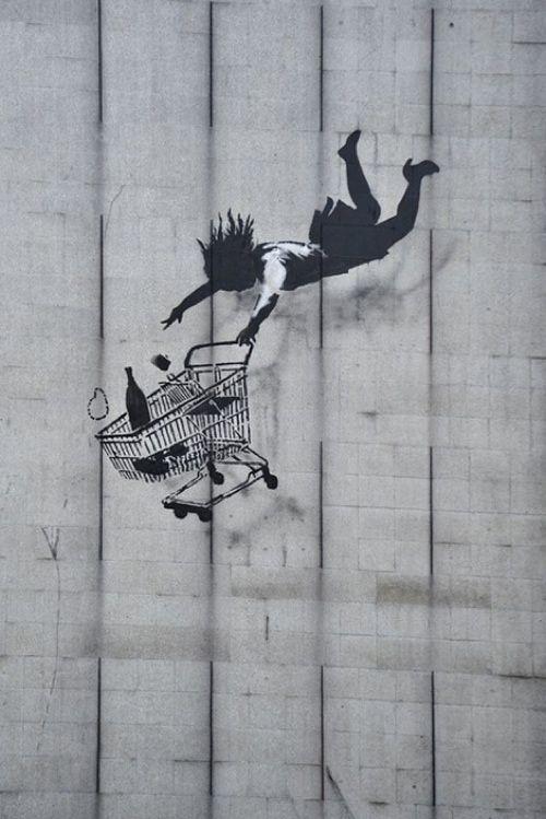 'Shop 'Til You Drop' – Banksy
