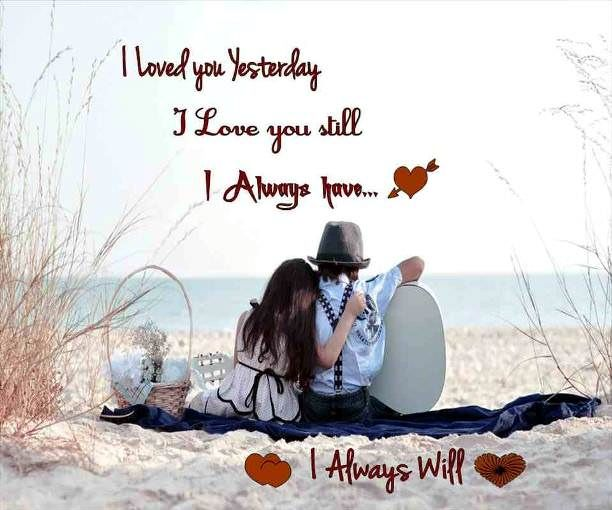 Love quotes in English For Her Him