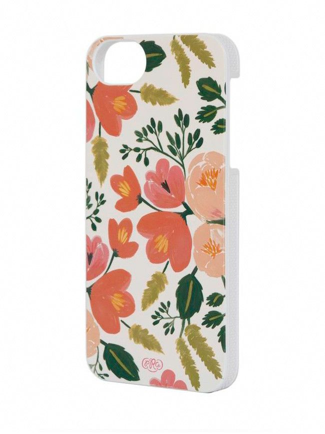 Rifle Paper Co botanical rose iphone case