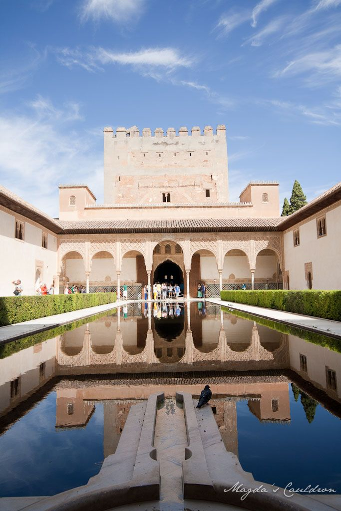 The Nasrid Palaces, Alhabra, Granada, Spain