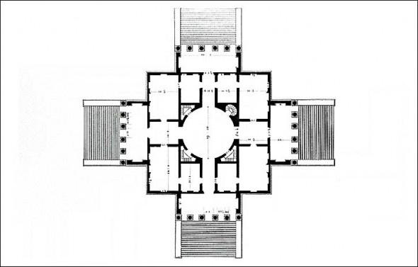 Andrea Palladio   La Rotonda   1570
