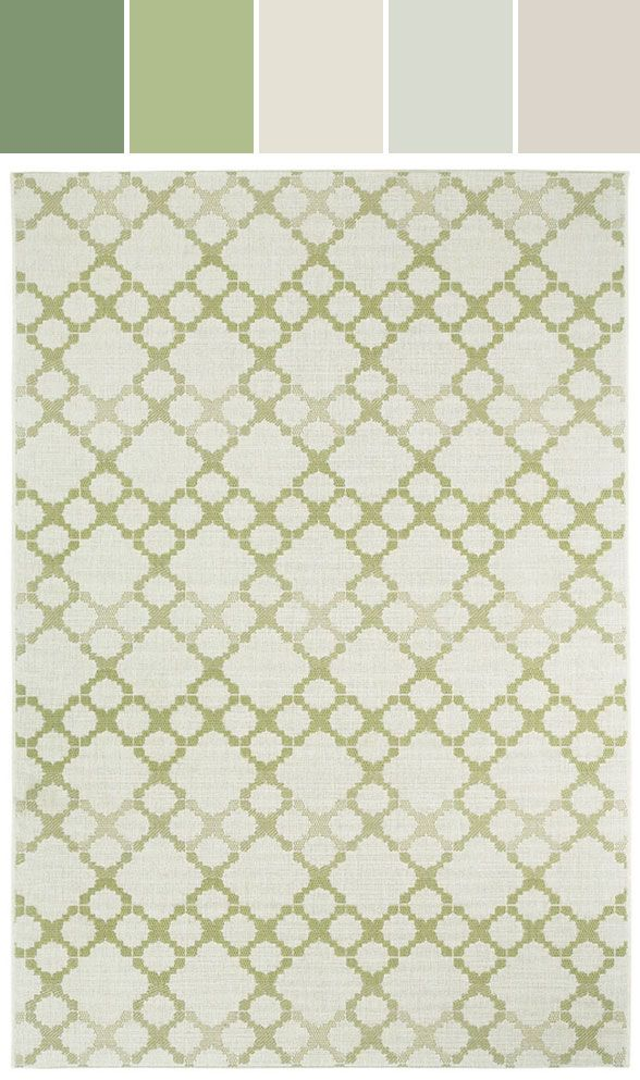 10 Palettes | Fresh Color Inspiration from Capel Rugs - Stylyze