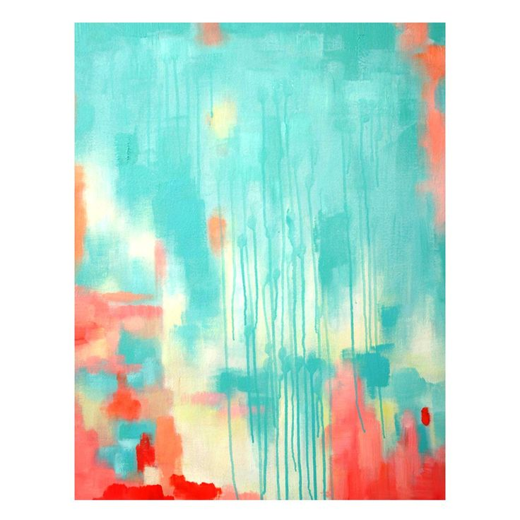 Wall Art - AQUA ROSE | $399.00