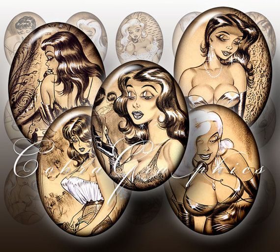 Bill Ward #art #pinup Digital Collage Sheet CG467 by CobraGraphics, $3.20: Ward Pinup, Ward Art, Bill Ward, Collage Sheet, Ward Collage, Sheet Cg467, Vintage Pinups, Cartoon Pinups, Art Pinup
