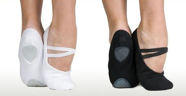 Обувь для танцев балетки