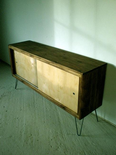 Rustic Modern Cedar Credenza - Uncovet
