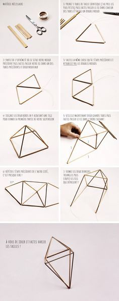 DIY : Oh ! Une suspension tendance