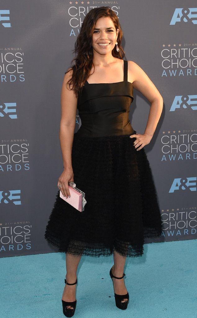 America Ferrera from 2016 Critics' Choice Awards Red Carpet Arrivals | E! Online