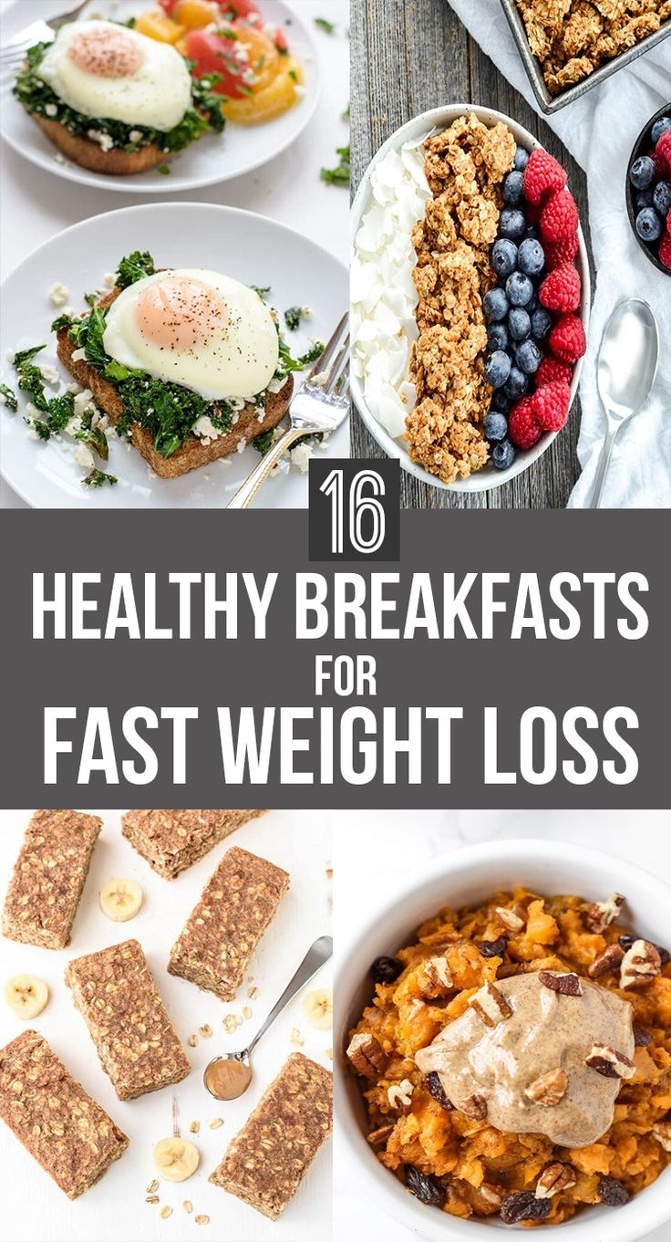 16 Healthy Breakfasts for FAST Weight Loss