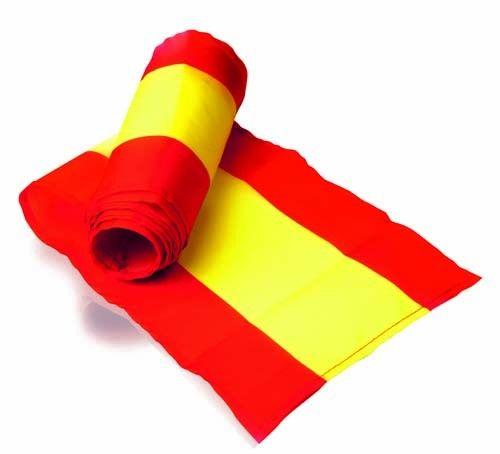 Bufanda España. Bandera selección española de fútbol. Dimensiones: 3,3x20,3x3,3 cm #articulosmerchandising #regalospublicitarios #empresasderegalos