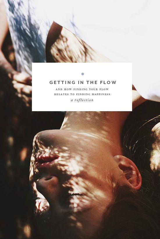 How getting in the flow relates to passion-finding and overall happiness.