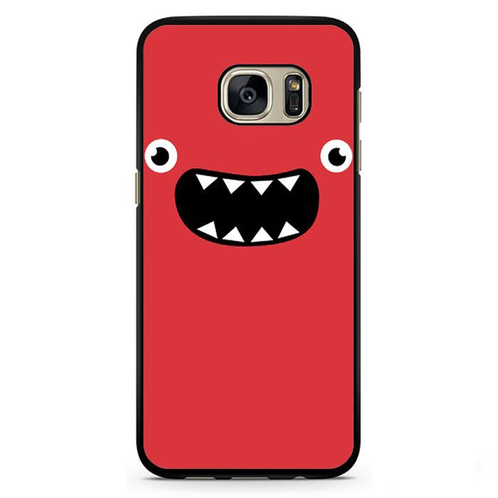 Pink Monster Face Phonecase Cover Case For Samsung Galaxy S3 Samsung Galaxy S4 Samsung Galaxy S5 Samsung Galaxy S6 Samsung Galaxy S7