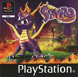 omg. this -legit- was one of my favorite playstation games. i remember being sick once, and playing it all day. #spyro #childhood