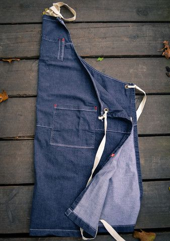 Double-Layer Butcher's Apron | Butcher and Baker aprons, knives, cutting boards, clothing, spices, salts, and gear