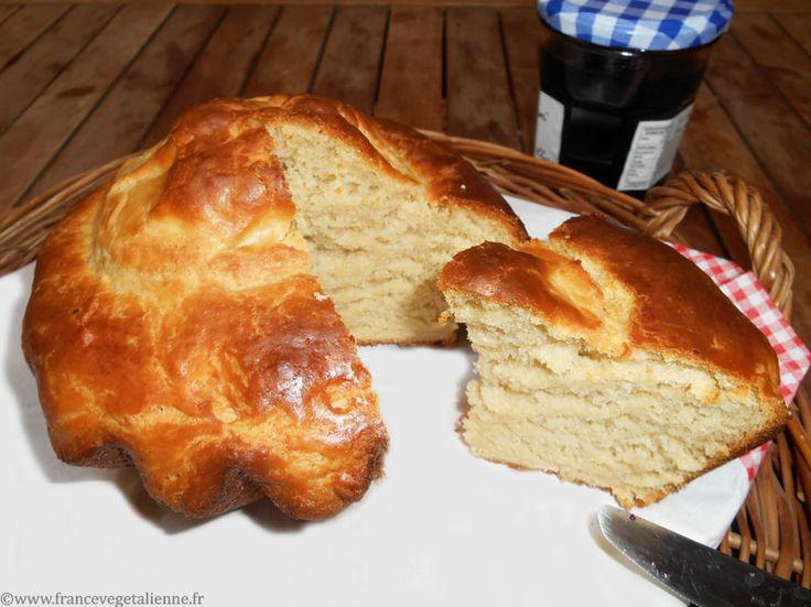 Brioche parisienne (recette végane)