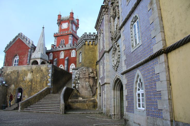 The Castle of Sintra, Castle of the Moors. Has been occupied and kept up with since the 8th century.