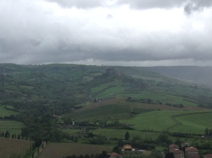 Rocca Ripesena view from Orvieto